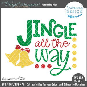 Jingle All The Way Cut File