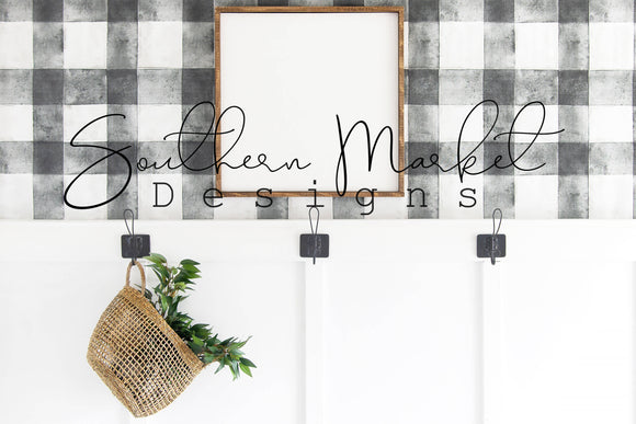 24X24 WOOD FARMHOUSE DIGITAL MOCK UP STOCK PHOTOGRAPHY