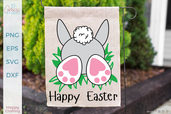Happy Easter Bunny Butt