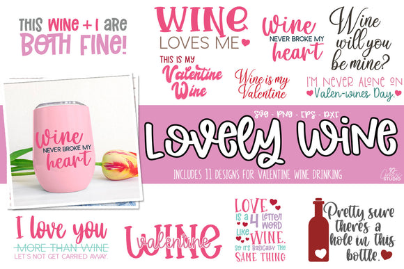 Wine for Valentines Bundles