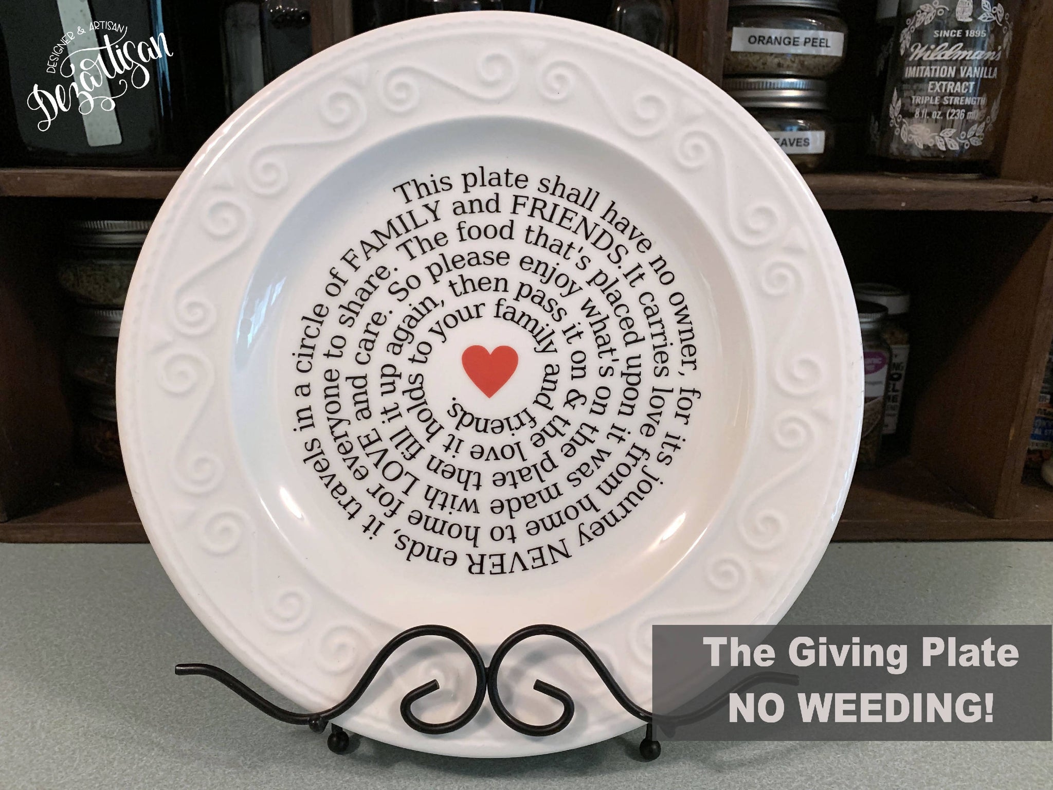 The Giving Plate Svg Dxf Cut File Svg Font Market