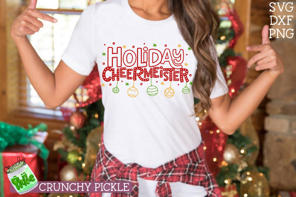 Holiday Cheermeister Christmas SVG