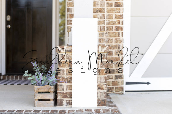 10X36 FRONT PORCH WOOD FARMHOUSE DIGITAL MOCK UP STOCK PHOTOGRAPHY