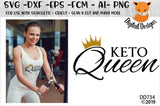 Keto Queen Diet SVG