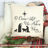 A Oh Come Let Us Adore Him SVG Cut File LL050A