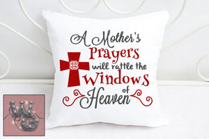 A Mother's Prayers Cut File WG145