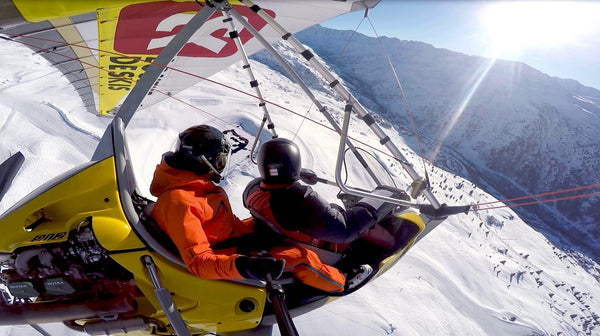 Fly United Today Air Experience - 15 minutes à Valmorel (80 Euros)