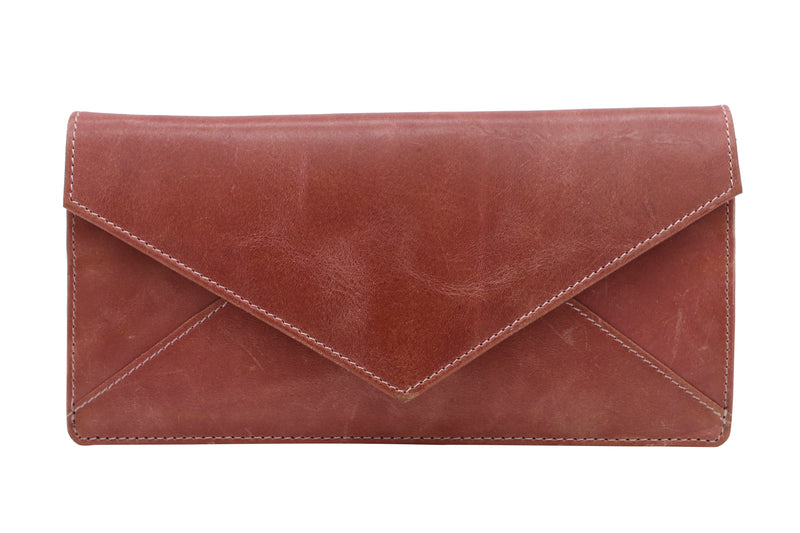 Tribe Monpa Rose Pink Women's Sleek Wallet- 100% Pure Leather