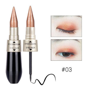 sterdio..com Beauty & Fashion 3 Shimmer Eyeshadow Stick Waterproof Glitter Eye Shadow Long-lasting Soft Eyeliner Makeup