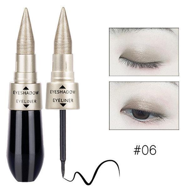 sterdio..com Beauty & Fashion 6 Shimmer Eyeshadow Stick Waterproof Glitter Eye Shadow Long-lasting Soft Eyeliner Makeup