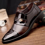 sterdio.com Beauty & Fashion Brown / 38 New Fashion High Quality British Style Men Oxford Shoes