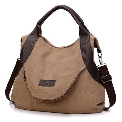 sterdio.com Beauty & Fashion Coffee Women's Large Pocket Messenger Handbag