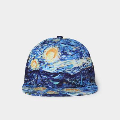 sterdio.com Beauty & Fashion ND 3D Printed Starry Baseball Cap