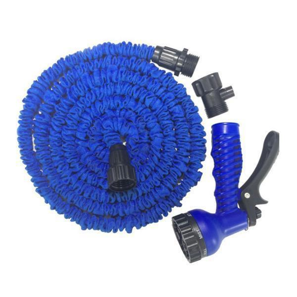 sterdio.com Home & Garden Blue / 50ft Expandable Garden Hose