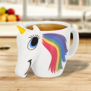 sterdio.com Home & Garden Color Changing Unicorn Mug
