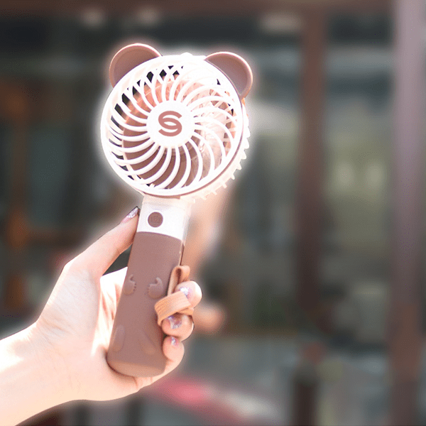 sterdio.com Home & Garden Cute Love Fan With Selfie Stick