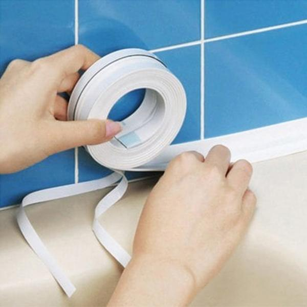 sterdio.com Home & Garden White Household Waterproof Mold-proof Tape