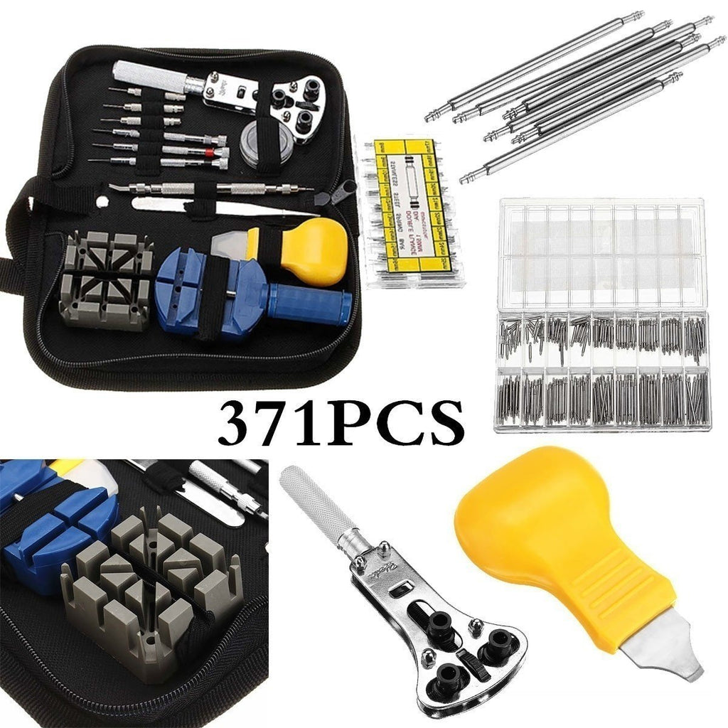 sterdio.com Tools 371pcs Watchmaker Repair Tool Kit