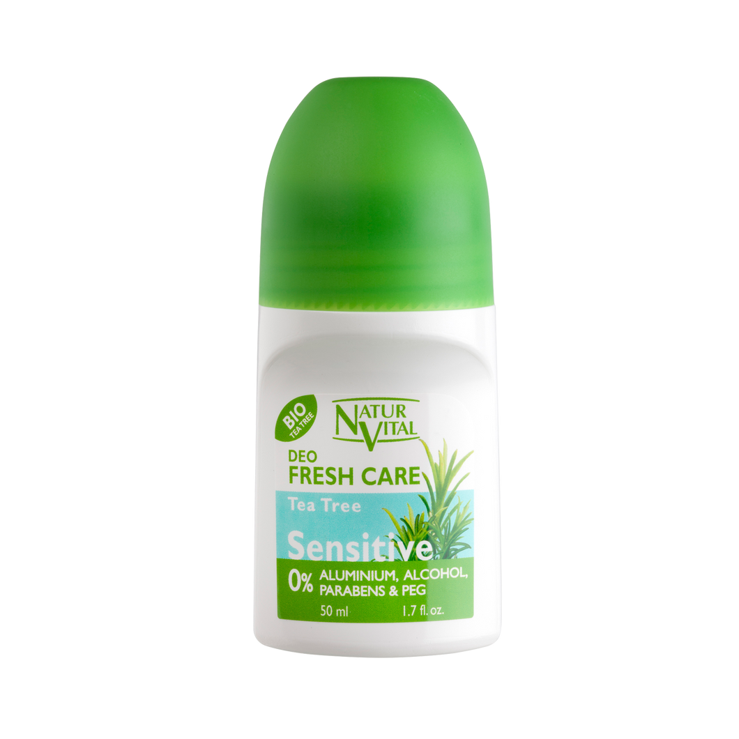 NV Desodorante Roll On Sensitive Tea Tree 50ml