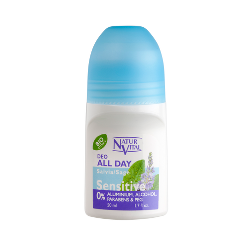 NV Desodorante Roll On Sensitive Salvia 50ml