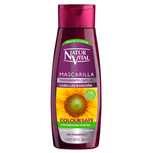 NV Mascarilla Coloursafe Borgoña 300ml