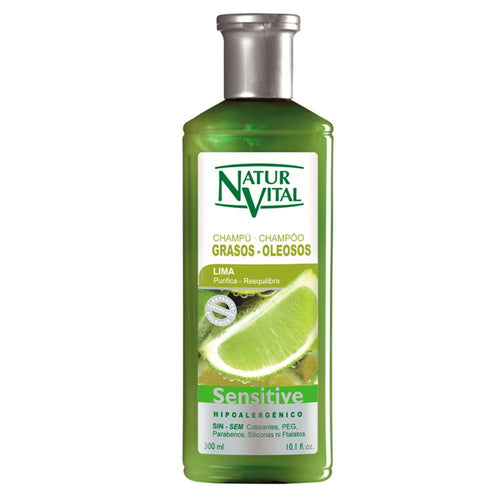 NV Champu Sensitive Grasos Lima 300ml