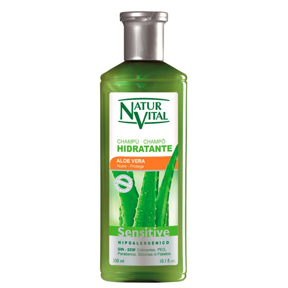 Shampoo Sensitive Hidratante Aloe Vera 300ml