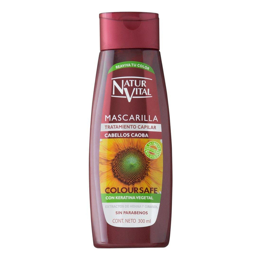 NV Mascarilla Coloursafe Caoba 300ml