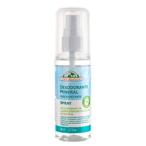 Desodorante Mineral Spray 80 ml