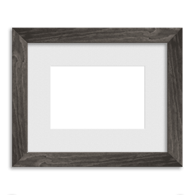 Barnwood Frame // Soft Grey