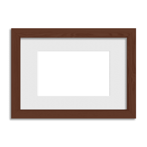 Gallery Frame // Light Walnut