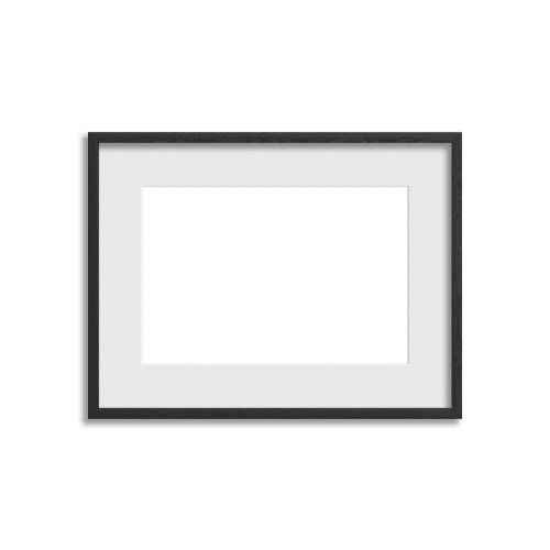 Gallery Frame // Rich Black