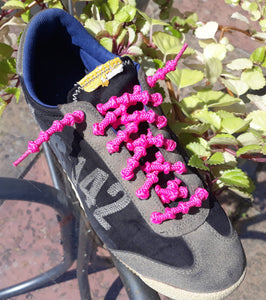 Not Tied Elastic Shoelaces Cordonshoe, 50cm. & 70cm. Ping.