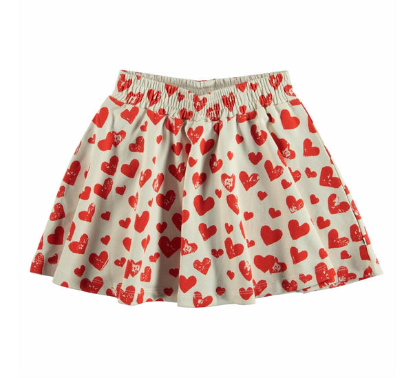 "Barbera ""all is love""-GIRLS SKIRT-Molo-98/104-3/4 yrs-jellyfishkids.com.cy"