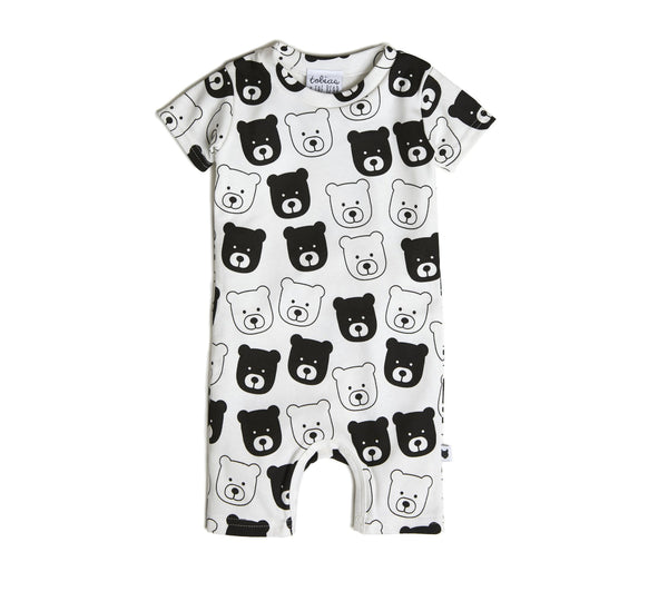 Bear Short Romper-Short Romper-Tobias and the Bear-12-18 MTHS-jellyfishkids.com.cy