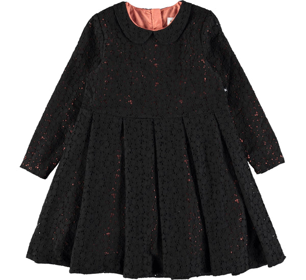 Cici Black lace dress-DRESS-MOLO-122/128 - 7-8 YRS-jellyfishkids.com.cy