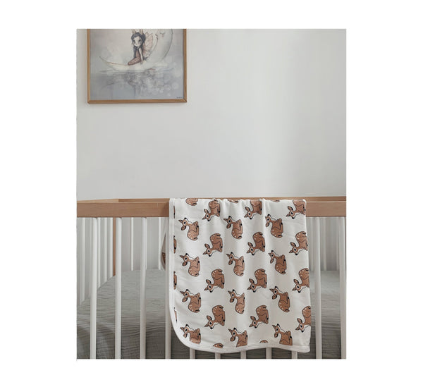 Fawn Baby Blanket-Baby Blanket-Tobias and the Bear-jellyfishkids.com.cy