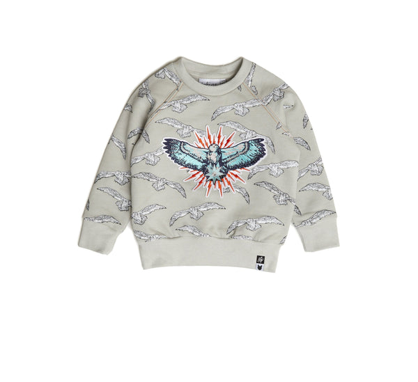 Hedwig Badge Sweatshirt-Jumper-Tobias and the Bear-2-3 YRS-jellyfishkids.com.cy