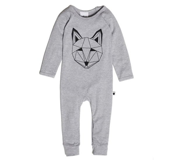 Just call me Fox Romper-BODYSUIT-Tobias & Bear-12/18 mths-jellyfishkids.com.cy
