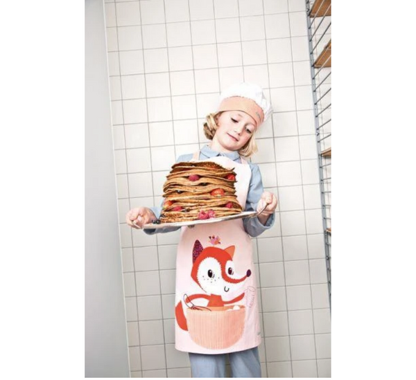 LITTLE CHEF. Alice Cooking Apron and Hat-littlechef-Lilliputiens-jellyfishkids.com.cy