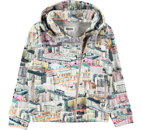 Mai Pastel City Hoodie/Jacket-GIRLS JACKET-MOLO-104 - 4 yrs-jellyfishkids.com.cy