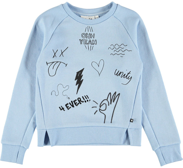 Malika-Power Blue-GIRLS JUMPER-molo-92-2 yrs-jellyfishkids.com.cy
