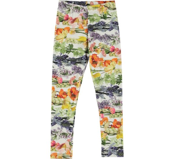 Niki Rainbow Bloom Leggings-GIRLS LEGGINGS-MOLO-98 - 3 yrs-jellyfishkids.com.cy
