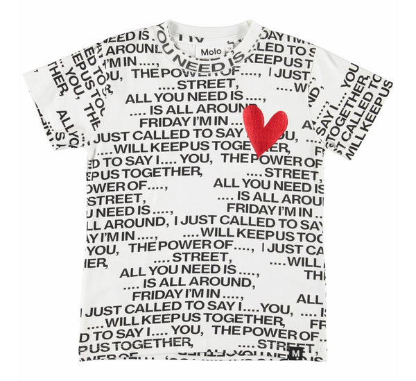 Road - Love song-T-SHIRT-Molo-116-6 yrs-jellyfishkids.com.cy