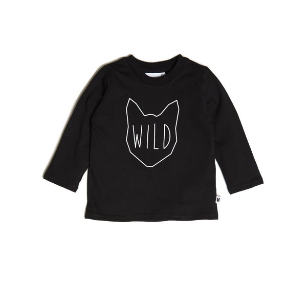 Wild long tee-LONG SLEEVED TOP-Tobias & Bear-12/18 mths-jellyfishkids.com.cy