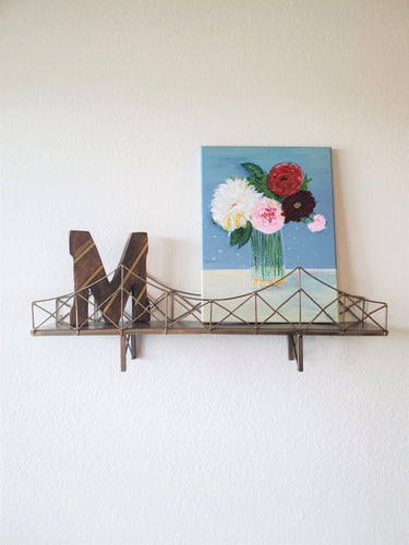 Modern Bridge Shelf