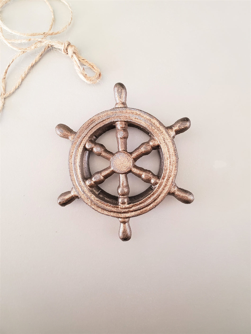 Nautical Wheel Door Knocker