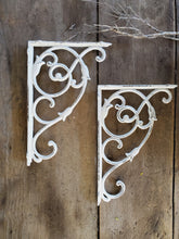 Floral Garden Brackets - Set of 2