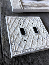 Diamond Double Switch Plate