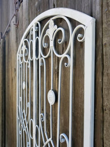 Large Metal Gate Wall Decor